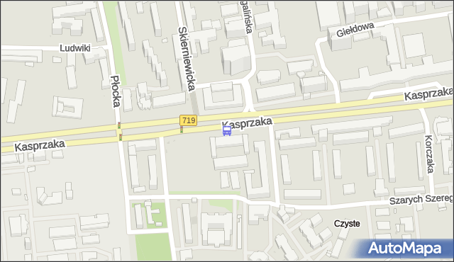 Przystanek Szpital Wolski 01. ZTM Warszawa - Warszawa (id 504201) na mapie Targeo