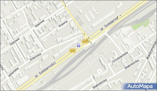Przystanek Szwedzka 01. ZTM Warszawa - Warszawa (id 105301) na mapie Targeo