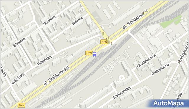 Przystanek Szwedzka 02. ZTM Warszawa - Warszawa (id 105302) na mapie Targeo