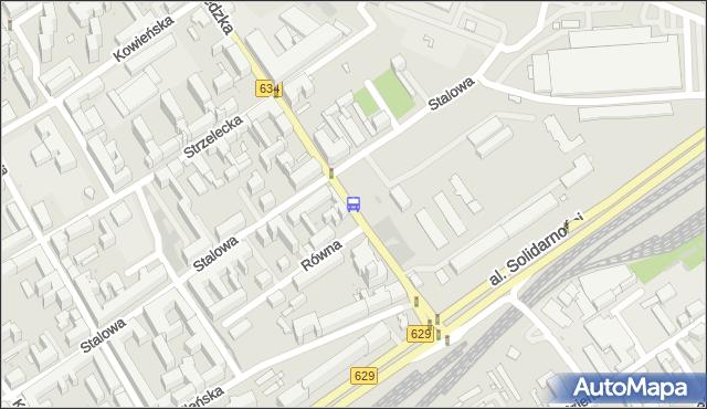 Przystanek Szwedzka 04. ZTM Warszawa - Warszawa (id 105304) na mapie Targeo