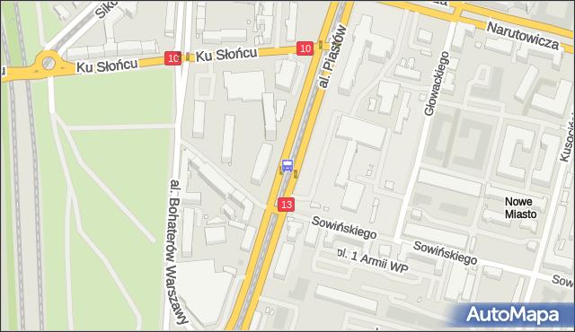 Przystanek Szwoleżerów 12. ZDiTM Szczecin - Szczecin (id 21112) na mapie Targeo