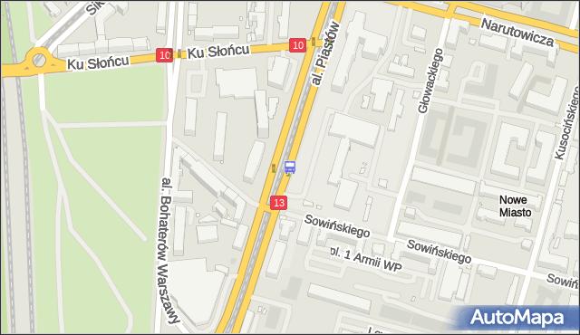 Przystanek Szwoleżerów 14. ZDiTM Szczecin - Szczecin (id 21114) na mapie Targeo
