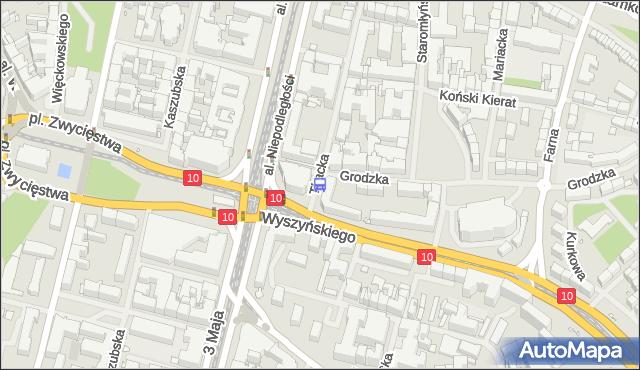 Przystanek Tkacka 11. ZDiTM Szczecin - Szczecin (id 11111) na mapie Targeo
