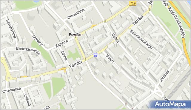 Przystanek Topiel 01. ZTM Warszawa - Warszawa (id 706701) na mapie Targeo