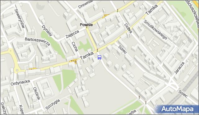 Przystanek Topiel 03. ZTM Warszawa - Warszawa (id 706703) na mapie Targeo