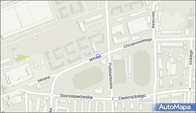 Przystanek Tor Kolarski 01. ZTM Warszawa - Warszawa (id 212301) na mapie Targeo