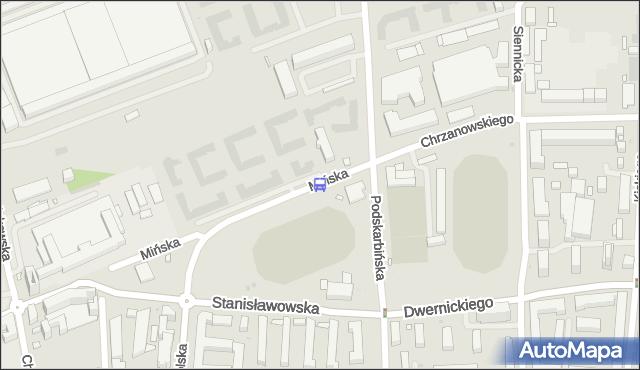 Przystanek Tor Kolarski 02. ZTM Warszawa - Warszawa (id 212302) na mapie Targeo