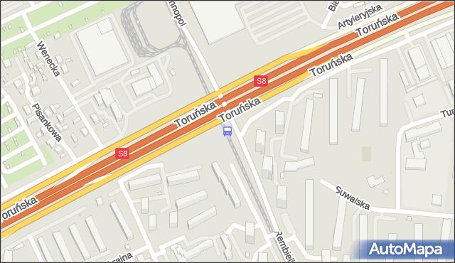 Przystanek Toruńska 04. ZTM Warszawa - Warszawa (id 108604) na mapie Targeo