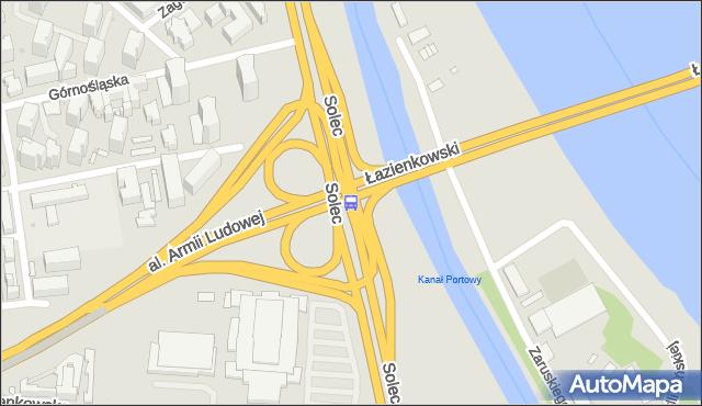 Przystanek Torwar 01. ZTM Warszawa - Warszawa (id 707601) na mapie Targeo
