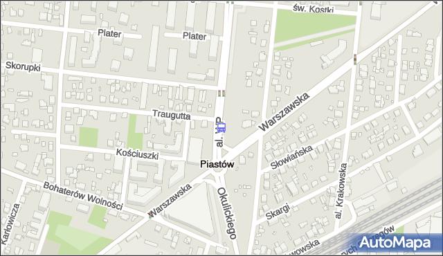 Przystanek Traugutta 02. ZTM Warszawa - Warszawa (id 423102) na mapie Targeo