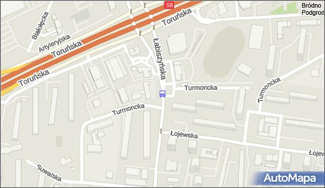 Przystanek Turmoncka 01. ZTM Warszawa - Warszawa (id 116501) na mapie Targeo