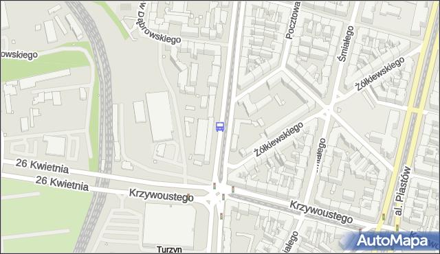 Przystanek Turzyn 11. ZDiTM Szczecin - Szczecin (id 10211) na mapie Targeo