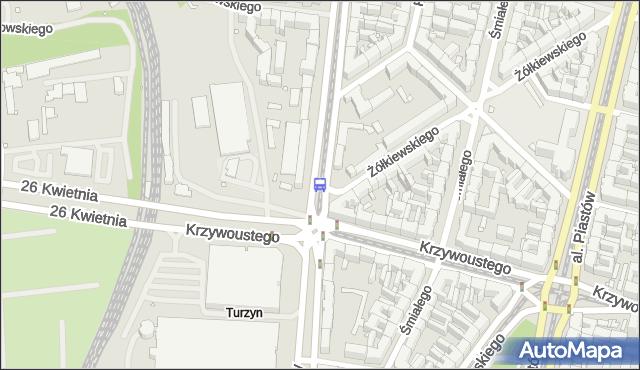 Przystanek Turzyn 12. ZDiTM Szczecin - Szczecin (id 10212) na mapie Targeo