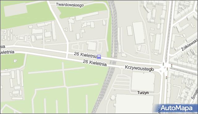 Przystanek Turzyn Dworzec 11. ZDiTM Szczecin - Szczecin (id 10111) na mapie Targeo