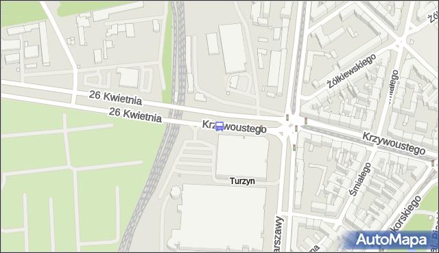 Przystanek Turzyn Dworzec 12. ZDiTM Szczecin - Szczecin (id 10112) na mapie Targeo