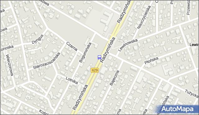 Przystanek Tużycka 01. ZTM Warszawa - Warszawa (id 105901) na mapie Targeo
