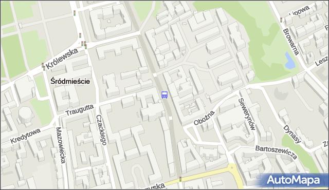 Przystanek Uniwersytet 02. ZTM Warszawa - Warszawa (id 704402) na mapie Targeo