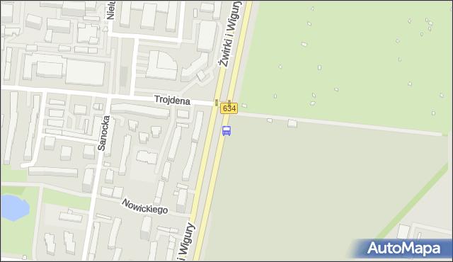 Przystanek Uniwersytet Medyczny 02. ZTM Warszawa - Warszawa (id 403102) na mapie Targeo