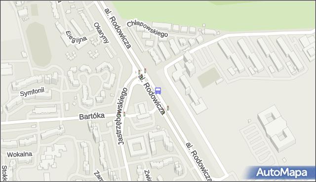 Przystanek Ursynów Płn. 02. ZTM Warszawa - Warszawa (id 312002) na mapie Targeo