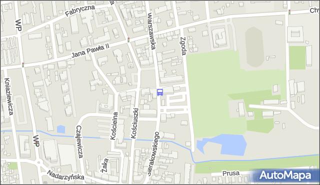 Przystanek Urząd Miasta 02. ZTM Warszawa - Warszawa (id 316702) na mapie Targeo