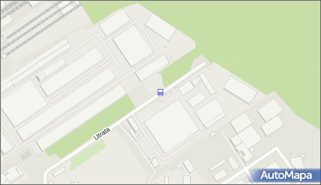 Przystanek Utrata-Urząd Celny 01. ZTM Warszawa - Warszawa (id 104401) na mapie Targeo