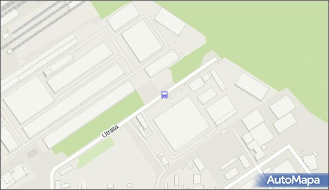 Przystanek Utrata-Urząd Celny 02. ZTM Warszawa - Warszawa (id 104402) na mapie Targeo