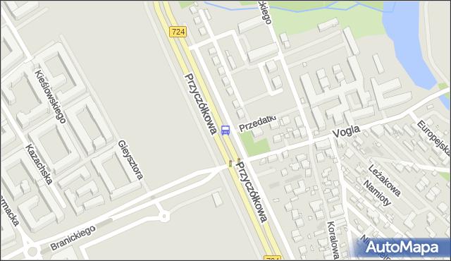 Przystanek Vogla 02. ZTM Warszawa - Warszawa (id 304502) na mapie Targeo