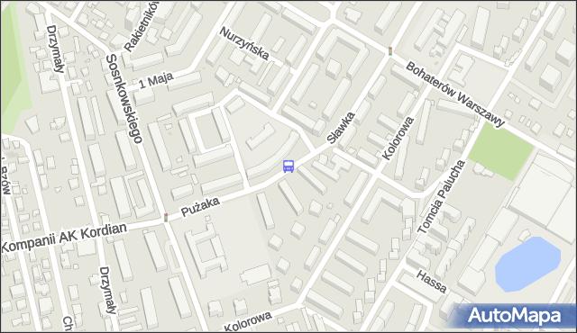Przystanek Wapowskiego 02. ZTM Warszawa - Warszawa (id 409802) na mapie Targeo
