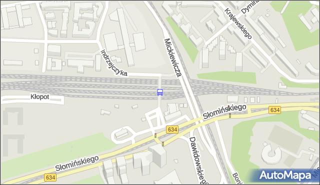 Przystanek Warszawa Gdańska 01. ZTM Warszawa - Warszawa (id 790301) na mapie Targeo