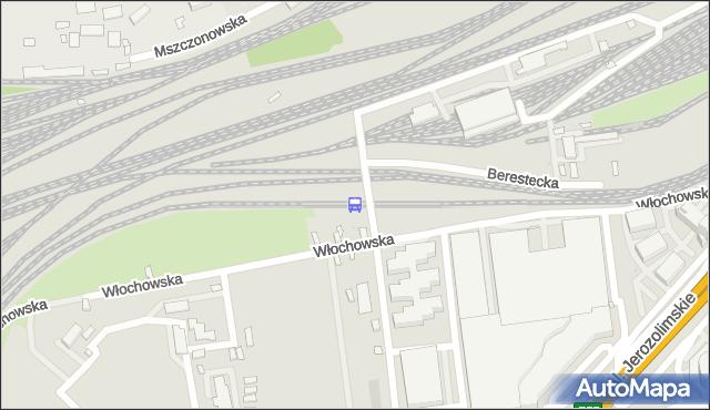 Przystanek Warszawa Reduta Ordona 01. ZTM Warszawa - Warszawa (id 491201) na mapie Targeo