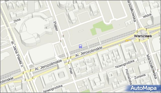 Przystanek Warszawa Śródmieście 02. ZTM Warszawa - Warszawa (id 790102) na mapie Targeo