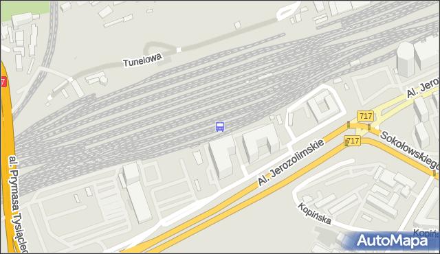 Przystanek Warszawa Zachodnia 01. ZTM Warszawa - Warszawa (id 490001) na mapie Targeo