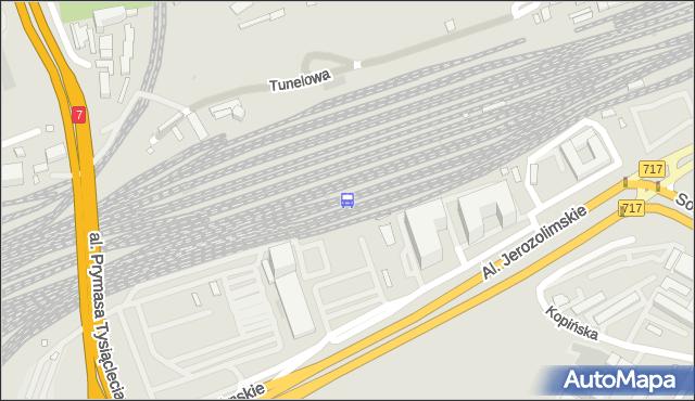 Przystanek Warszawa Zachodnia 02. ZTM Warszawa - Warszawa (id 490002) na mapie Targeo