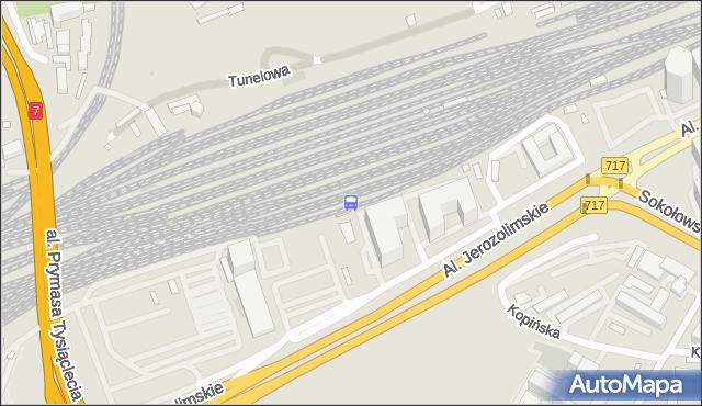 Przystanek Warszawa Zachodnia WKD 01. ZTM Warszawa - Warszawa (id 491001) na mapie Targeo
