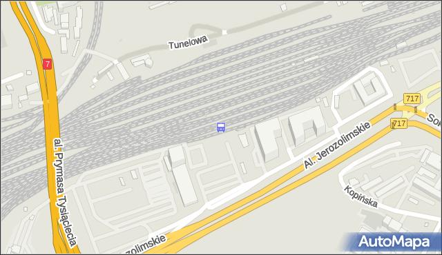 Przystanek Warszawa Zachodnia WKD 02. ZTM Warszawa - Warszawa (id 491002) na mapie Targeo