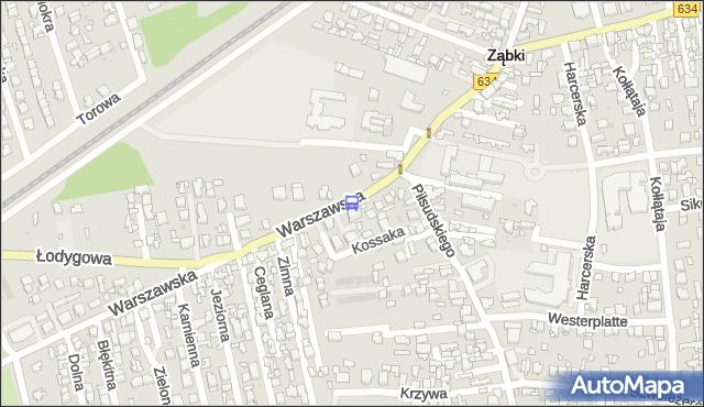 Przystanek Warszawska 02. ZTM Warszawa - Warszawa (id 121102) na mapie Targeo