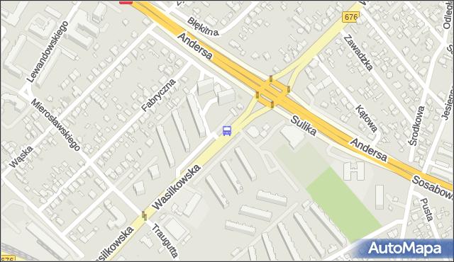 Przystanek Wasilkowska/Andersa. BKM - Białystok (id 524) na mapie Targeo
