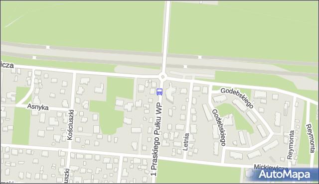 Przystanek Wesoła-Ratusz 03. ZTM Warszawa - Warszawa (id 228103) na mapie Targeo