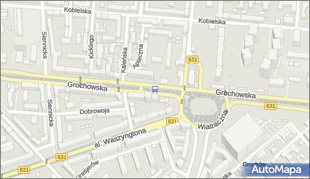 Przystanek Wiatraczna 05. ZTM Warszawa - Warszawa (id 200805) na mapie Targeo
