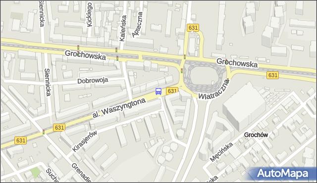 Przystanek Wiatraczna 07. ZTM Warszawa - Warszawa (id 200807) na mapie Targeo