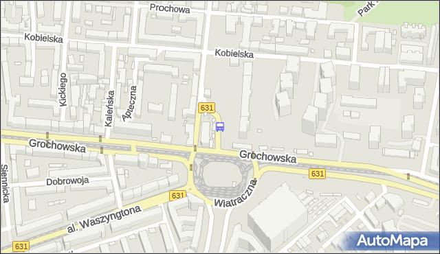 Przystanek Wiatraczna 08. ZTM Warszawa - Warszawa (id 200808) na mapie Targeo