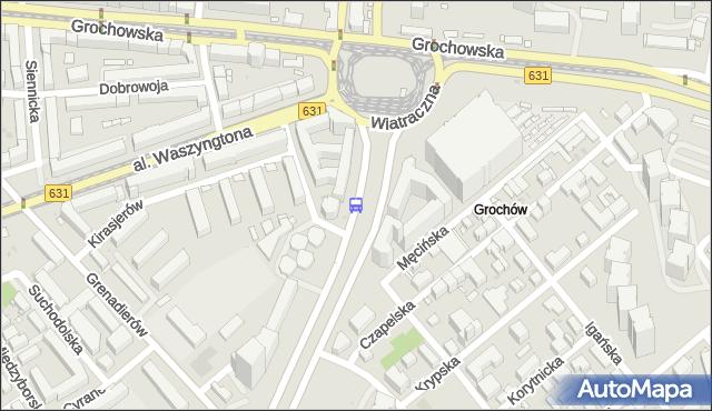 Przystanek Wiatraczna 09. ZTM Warszawa - Warszawa (id 200809) na mapie Targeo