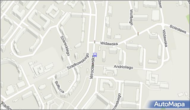 Przystanek Widawska 01. ZTM Warszawa - Warszawa (id 510701) na mapie Targeo