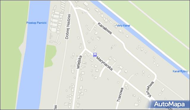 Przystanek Wiejska 12. ZDiTM Szczecin - Szczecin (id 61912) na mapie Targeo