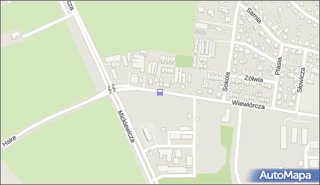 Przystanek Wiewiórcza/Liceum. BKM - Białystok (id 543) na mapie Targeo