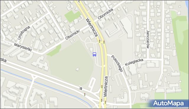 Przystanek Wilanów 07. ZTM Warszawa - Warszawa (id 304407) na mapie Targeo