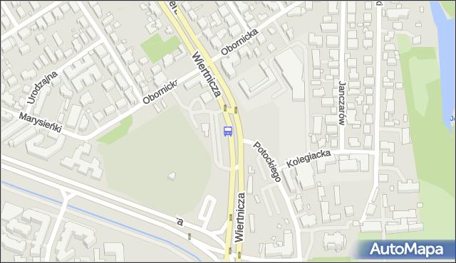 Przystanek Wilanów 10. ZTM Warszawa - Warszawa (id 304410) na mapie Targeo