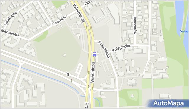 Przystanek Wilanów 12. ZTM Warszawa - Warszawa (id 304412) na mapie Targeo