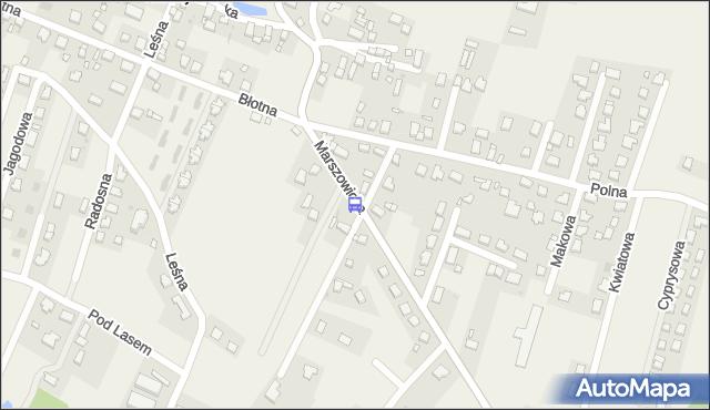 Przystanek Wilkszyn - Polna. MPKWroclaw - Wrocław (id 911924) na mapie Targeo