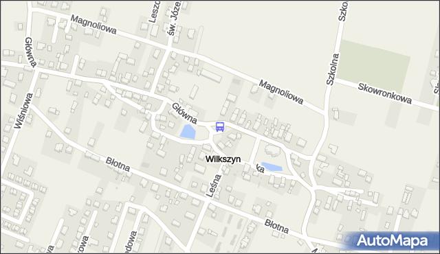 Przystanek Wilkszyn. MPKWroclaw - Wrocław (id 991925) na mapie Targeo